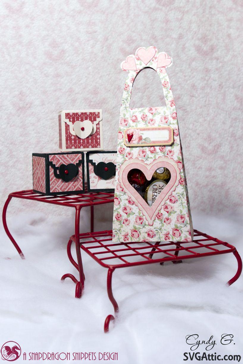 Download JGW Sweetest Heart Valentine bag and boxes #svgattic #svg ...