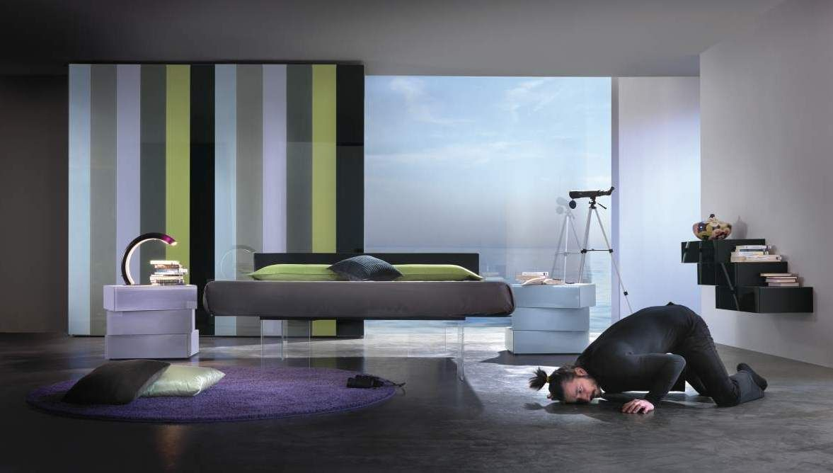 #etereo, #leggero, #sexy: Air Bed The feeling of sleeping on a cloud: this is the Air Bed; design  by Daniele Lago