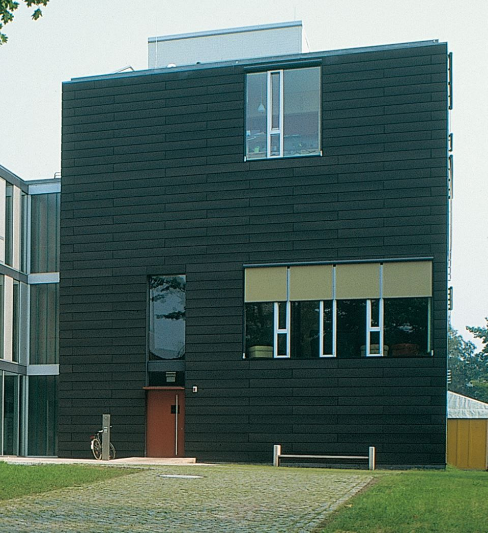 Student residence, Bremen (Germany) by Böge Lindner Architekten  #Architecture #Project #Facade #Zinc #VMZINC #CollectiveHousing #Germany