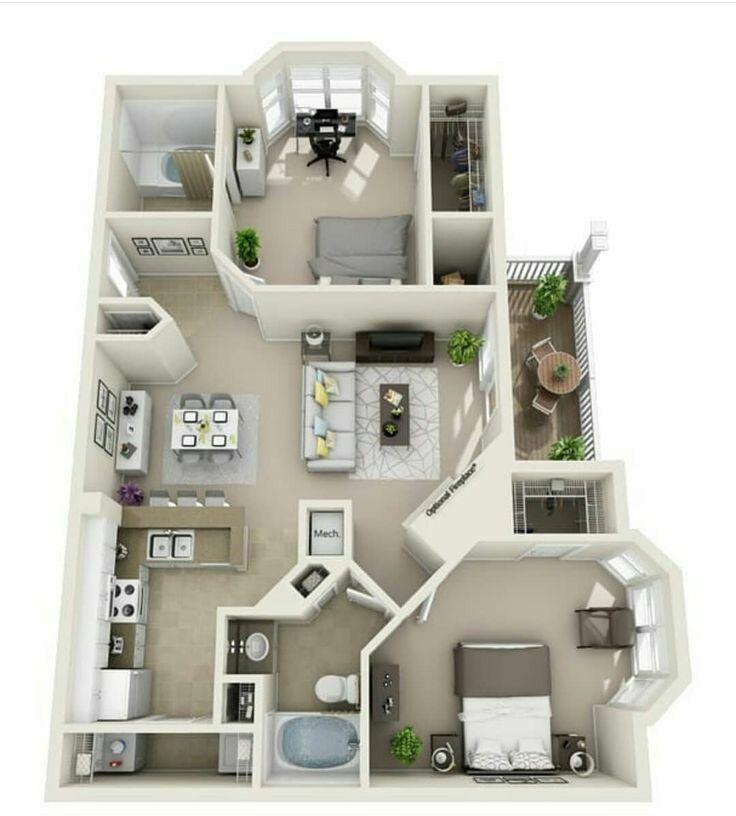 Pin by Mari Lay on Sims 4 in 2020 House layout plans