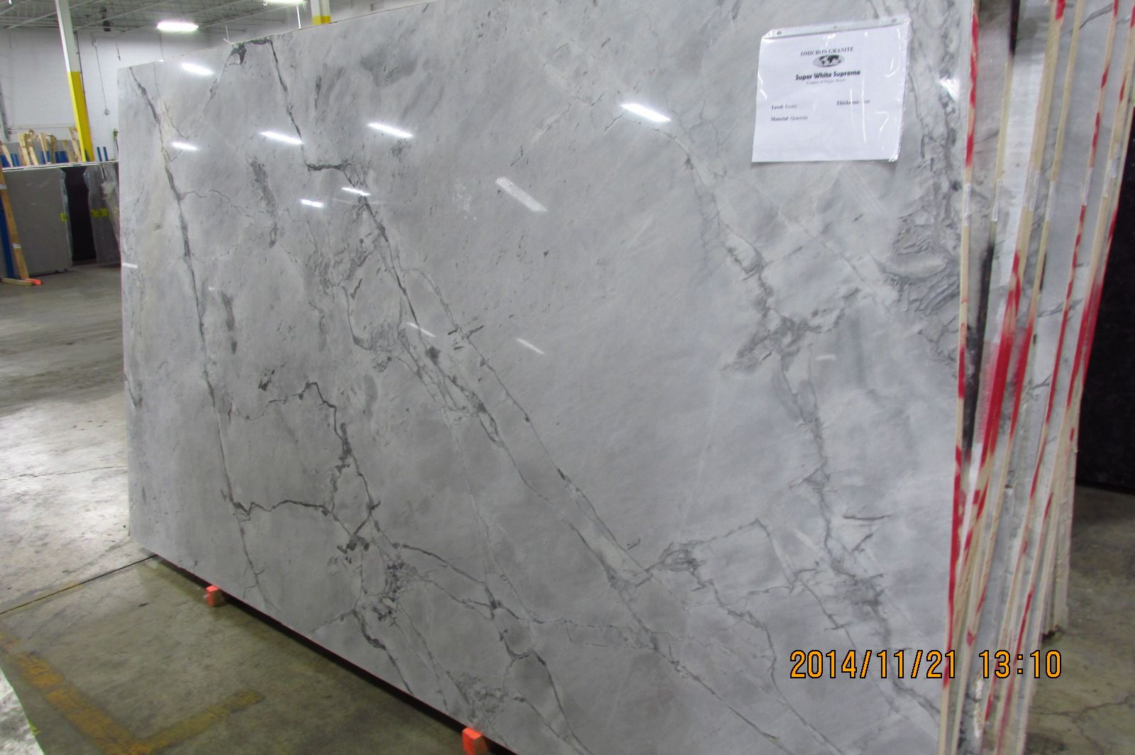 Super white supreme omicron granite tile love this Supreme white granite pictures