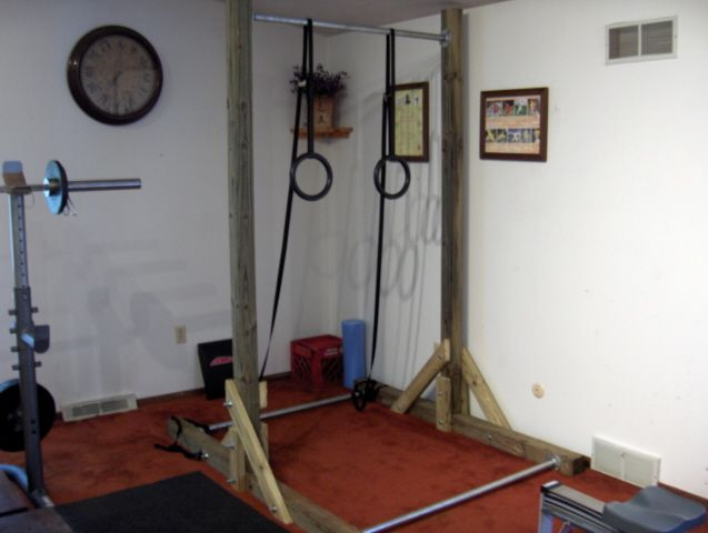 how to build a pullup and dip bar