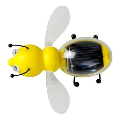 Solar Energy Bee Shape Toys #Toys_&_Hobbies #Novelty_&_Gag_Toys Price : $3.40 Amazing toys for children and teach the child to save our earth by using green power. It can produce power and vibrate in direct sunlight. It will shake forward on the smooth plane. There is a solar panel on the top of the bee that absorbs solar energy and provides energy for the ...