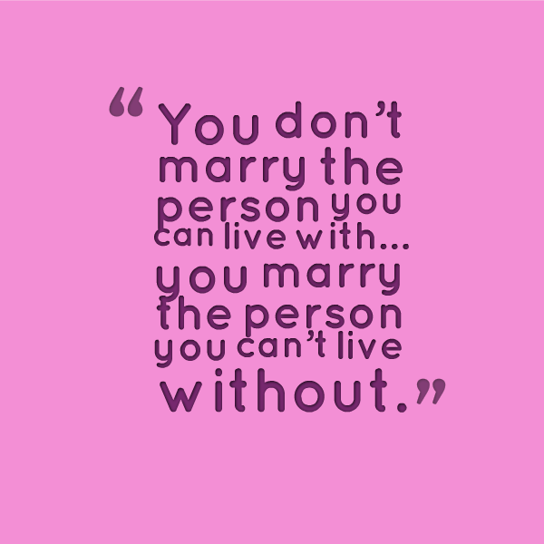 Love Marriage Quotes Endearing Love And Be Loved Valentines Love  Quote Of The Day