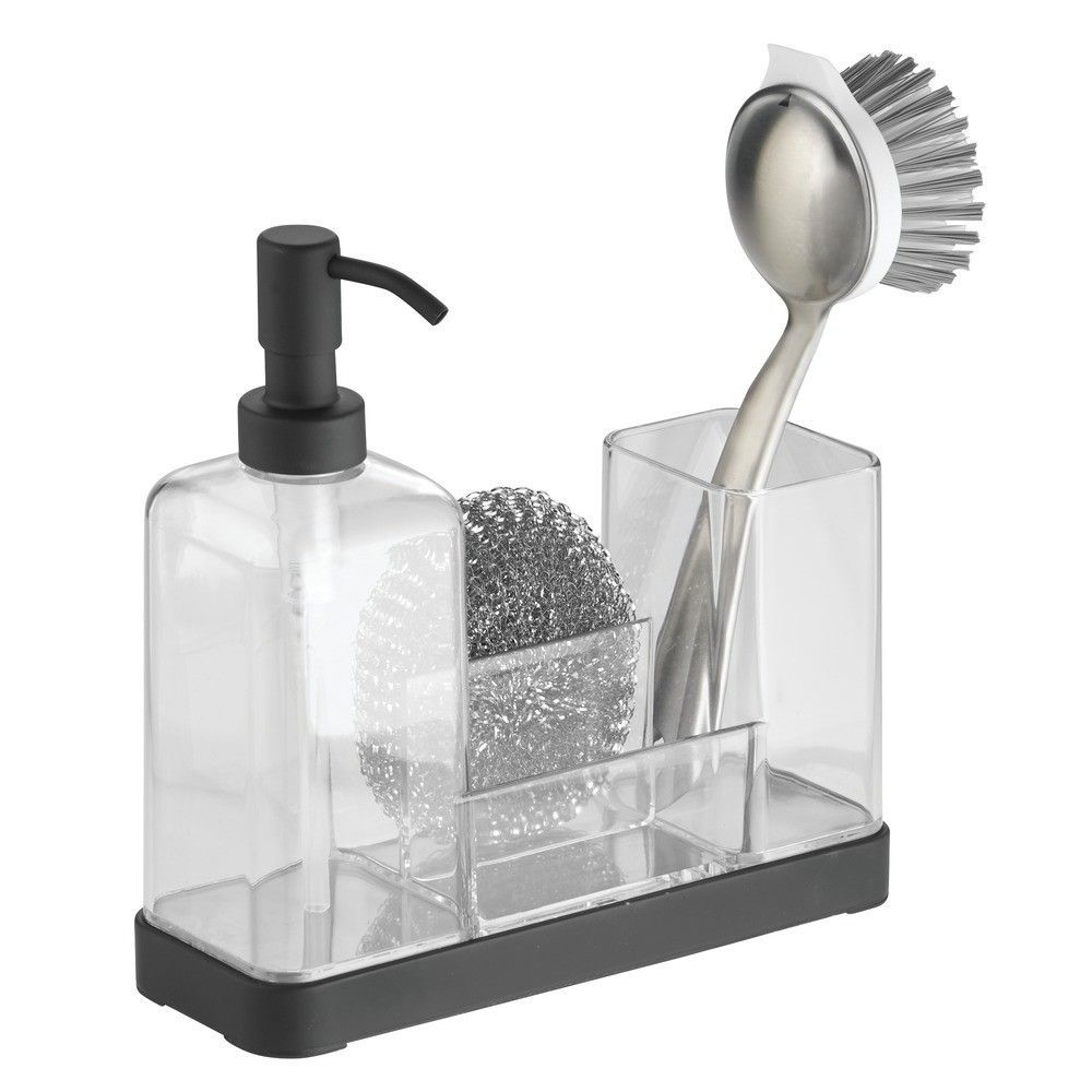 Forma Kitchen Soap Dispenser Pump Sponge Scrubby And
