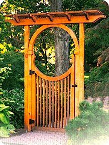 History Garden Dividers Backyard Gates Japanese Gate