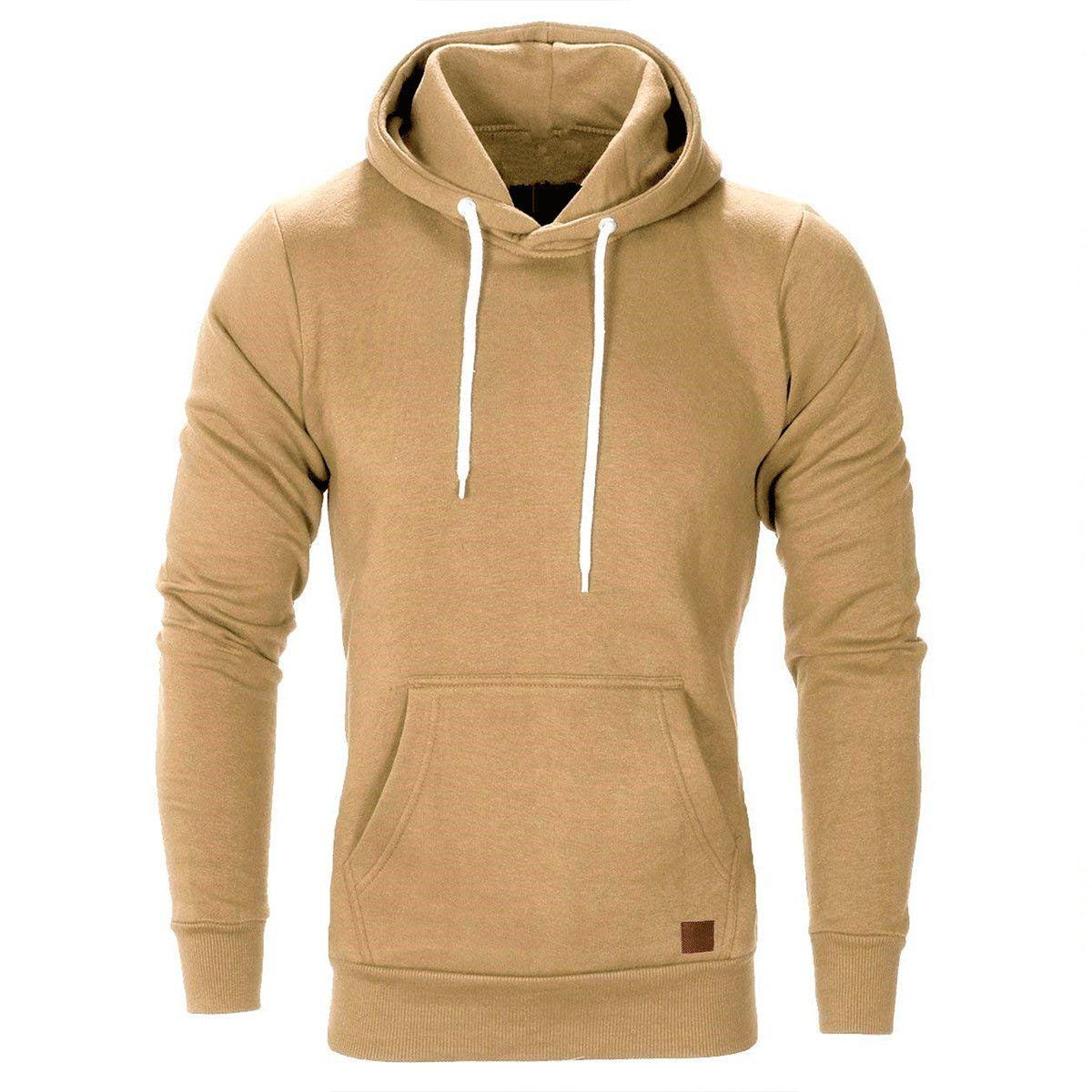 Men S Winter Hoodies Slim Fit Hooded Sweatshirt Outwear Sweater Warm Coat Jacket Hoodies Men Style Hoodies Men Hooded Sweatshirt Men [ 1200 x 1200 Pixel ]