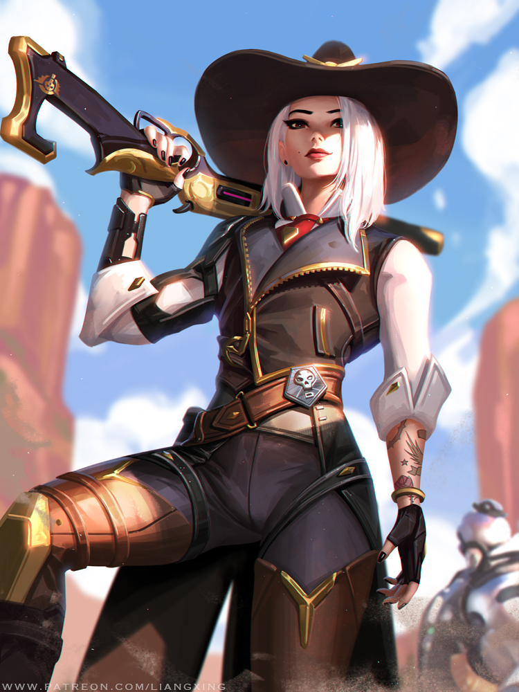 Ashe by LiangXing on DeviantArt Overwatch wallpapers