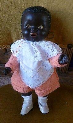 Composition Black Doll 1930s Antique Dolls Art Dolls Vintage Dolls
