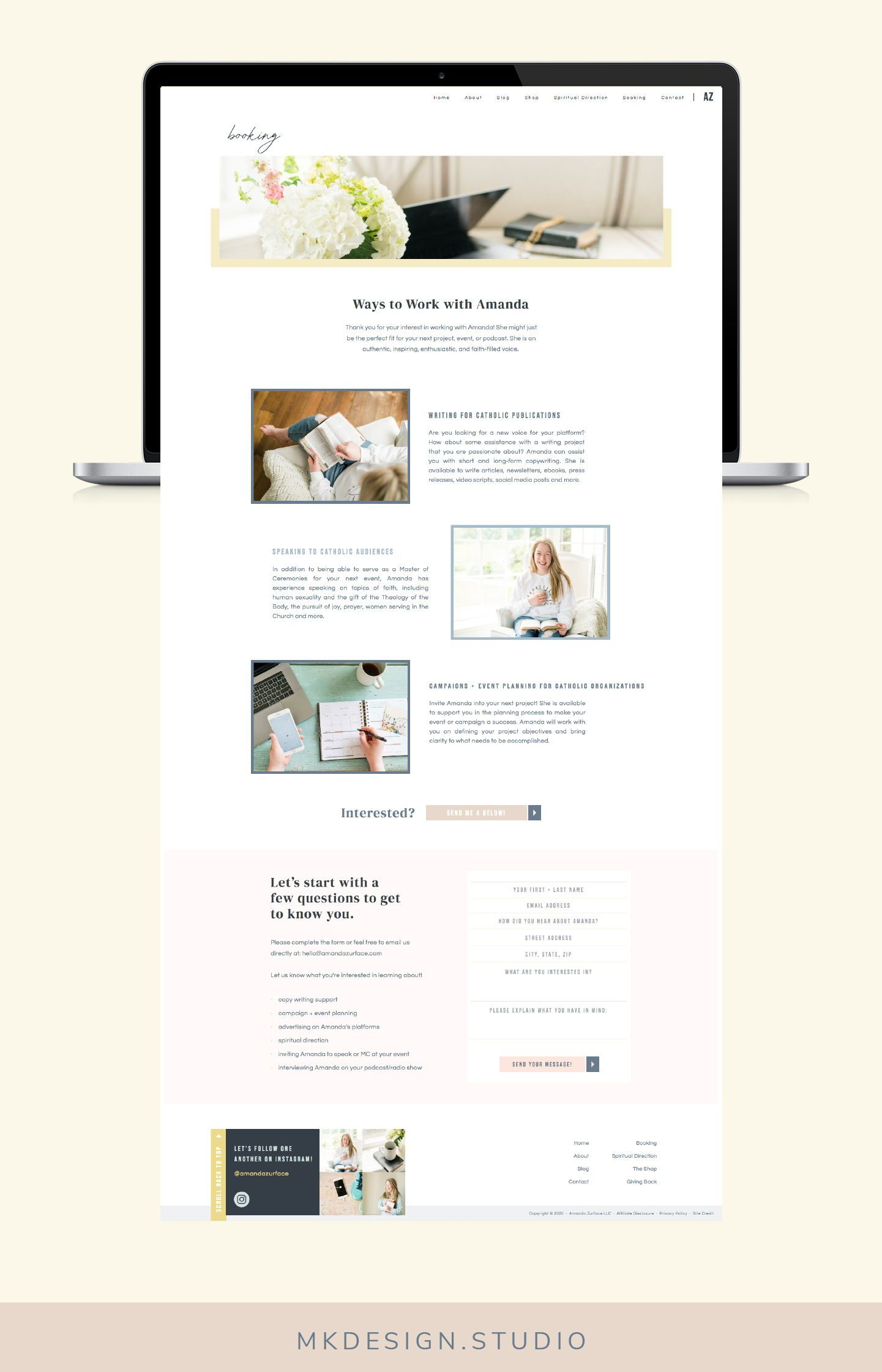 Branding And Web Design For Creatives Branding And Web Design For Small Business Owners In 2020 Blog Website Design Website Design Branding Website Design