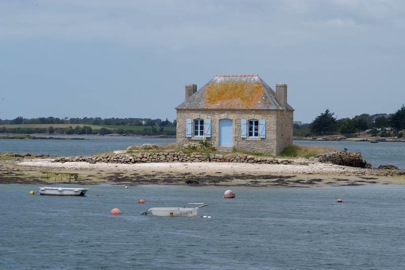 Saint Cado En De Ria D Etel Bretagne Bestemmingen Kleine Huizen