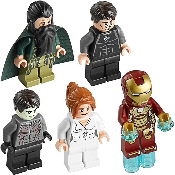 LEGO Iron Man Malibu Mansion Attack | LEGO | Lego iron man, Malibu