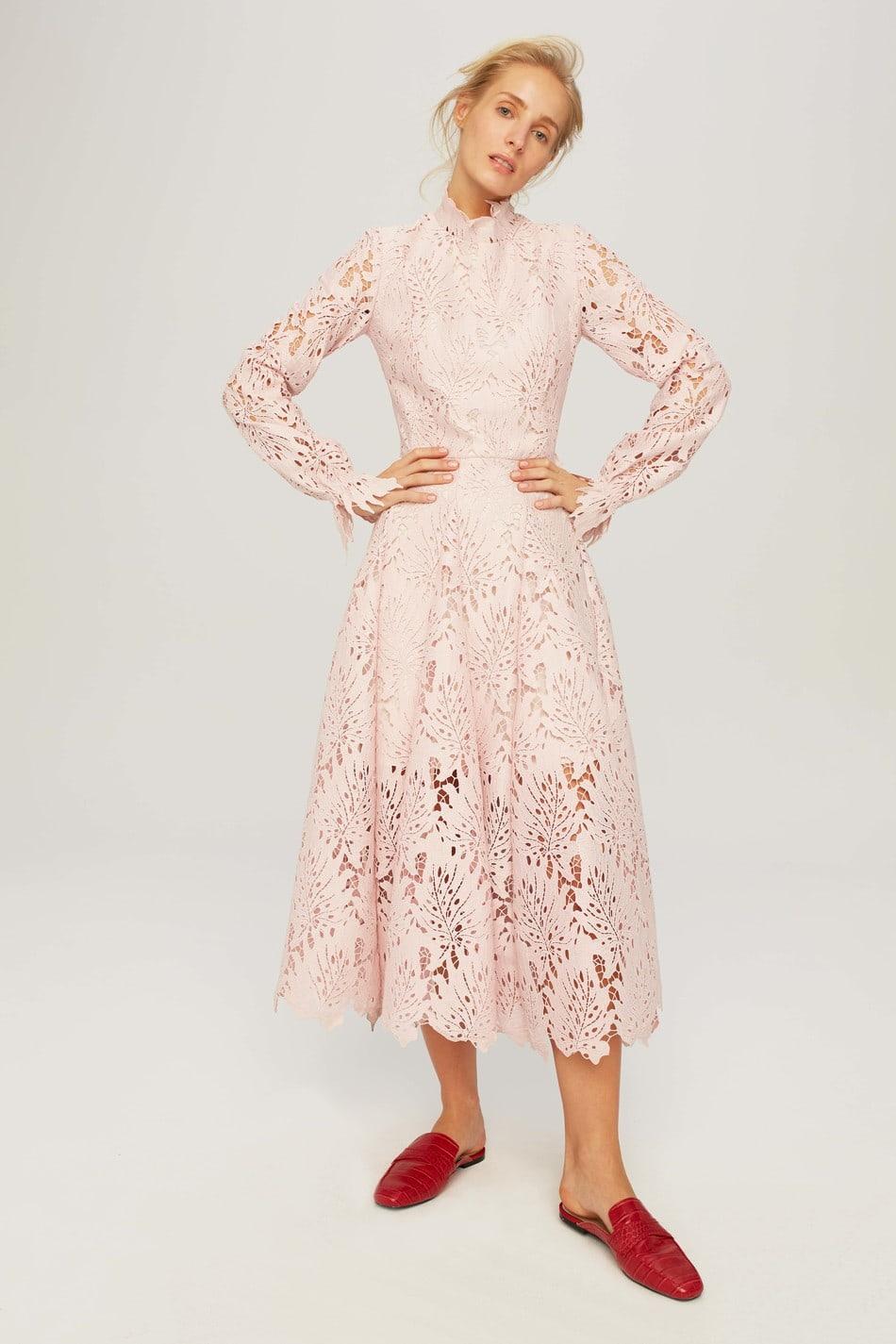 Koronkowa Sukienka Karmina Sale Bizuu Fashion Dresses Long Sleeve Dress