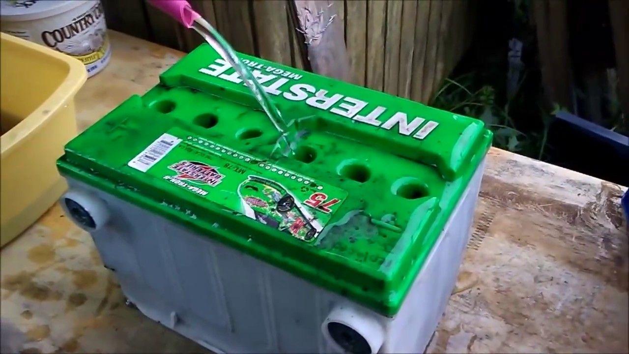 A trick to rejuvenate a car battery Car battery, Car, Repair