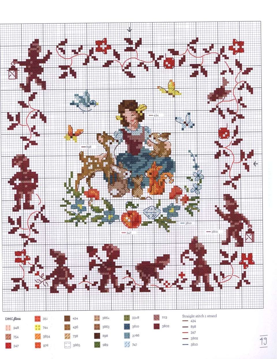 """Photo of Photo from album """"Fables & Fairy Tales to Cross Stitch 2018"""" on Yandex.Disk"""