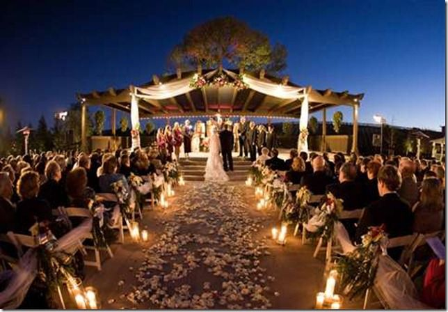 I Am Going To Have A Sunset Wedding With Beautiful Light Decorations No Doubt About It