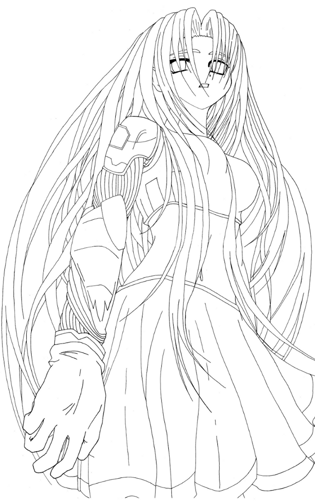 ment dessiner des cheveux manga
