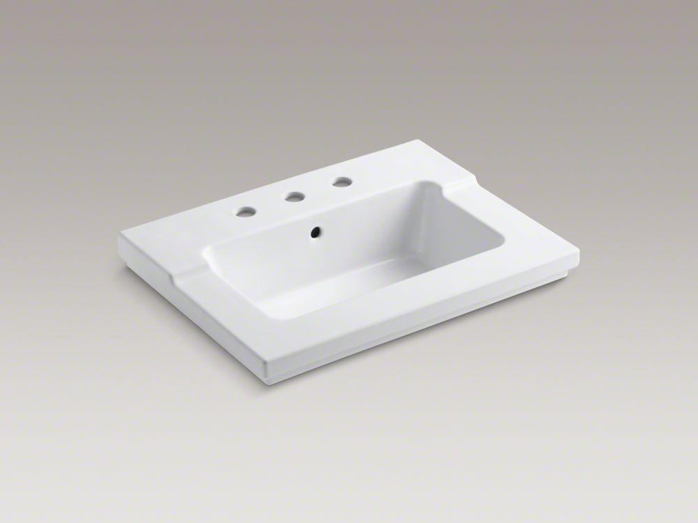 """Kohler K-2979 Tresham 25"""" X 19"""" One-Piece Integrated Sink"""