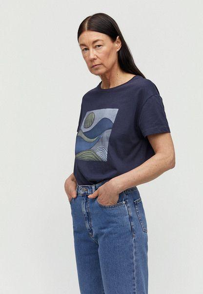 ARMEDANGELS Nelaa Landscape - Damen T-shirt Aus Bio-baumwolle #portugal