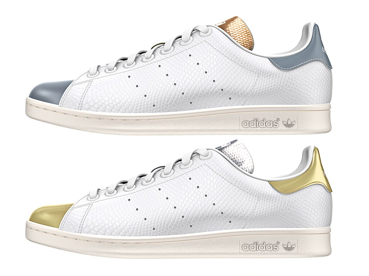 Adidas Stan Smith Metallic Gold