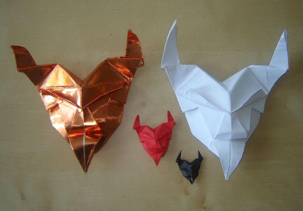 Photo of Origami Devil Mask