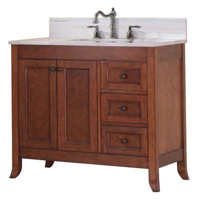 Woodnote Kitchens and Baths - 37-1/8 Inch W Ashwell Vanity Base ...