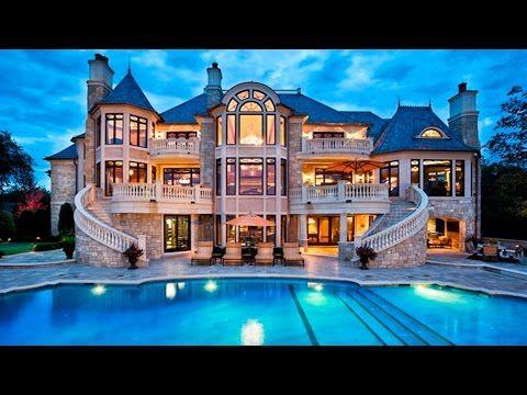Resultado De Imagen Para Imagenes De Casas Hermosas Casas Caras Casas Mansiones Casas De Lujo