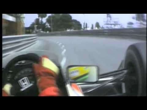 Tribute To Ayrton Senna Simply The Best With Senna Onboard In
