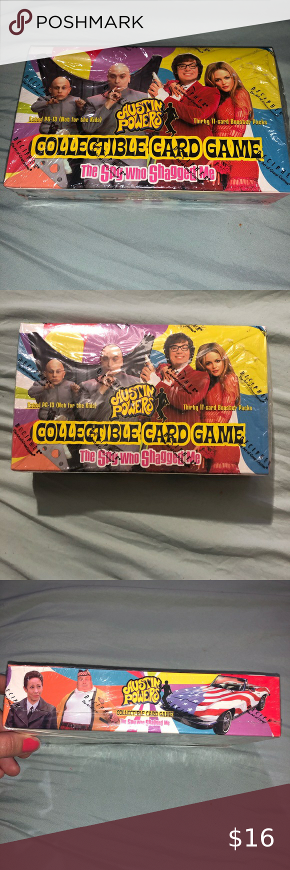 Austin Powers Collectible Card Game Vintage Pack Card Games Collectible Card Games Austin Powers