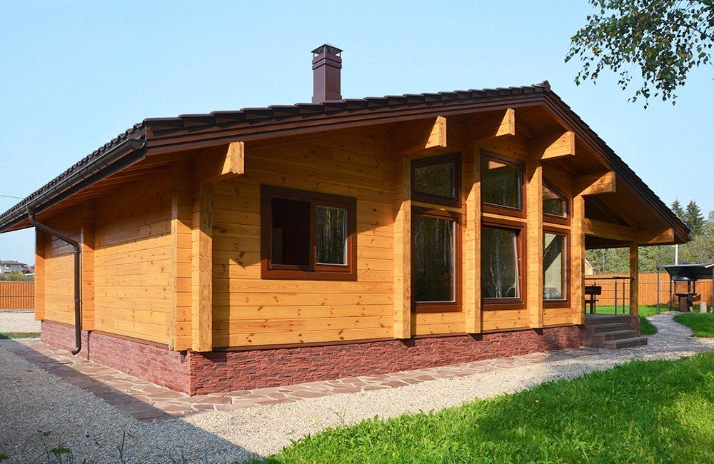 Holzhaus Aue — 93m2 — Brettschichtholz — Preise auf