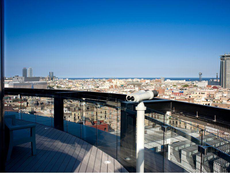 Terraza 360º Hotel Barceló Raval Voyage Barcelone