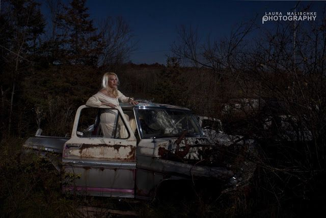Painting with Light - Pick Up Truck | Laura Malischke ~ Photographer