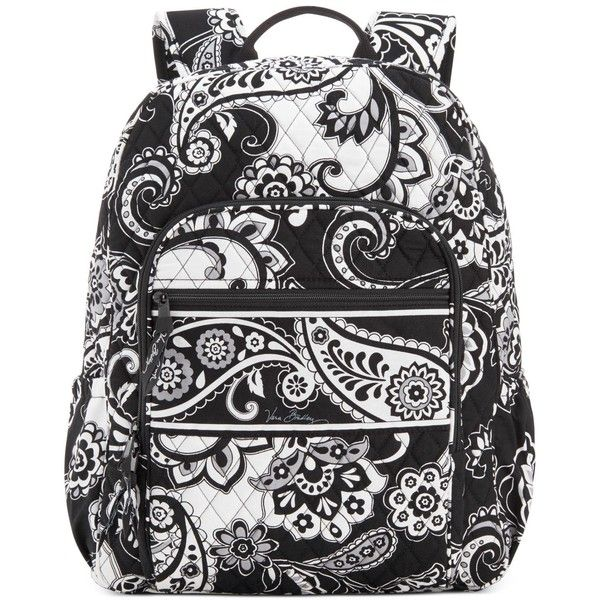 Vera Bradley Campus Backpack ( 109) ❤ liked on Polyvore featuring bags,  backpacks, midnight paisley, vera bradley bags, quilted backpack, rucksack  bag, ... e8ce1452b0