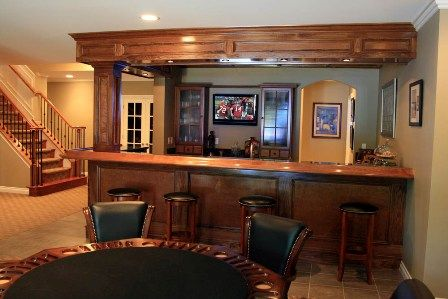 Cool Basement Bar. If only my basement had room to do this. | Dream House | Pinterest | Basements Bar and Room & Cool Basement Bar. If only my basement had room to do this. | Dream ...