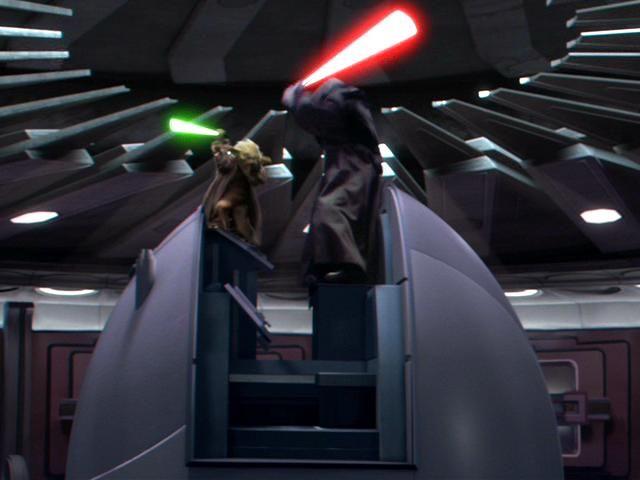 Yoda Vs Palpatine Yoda Vs Palpatine Episodeiii Yoda Vs
