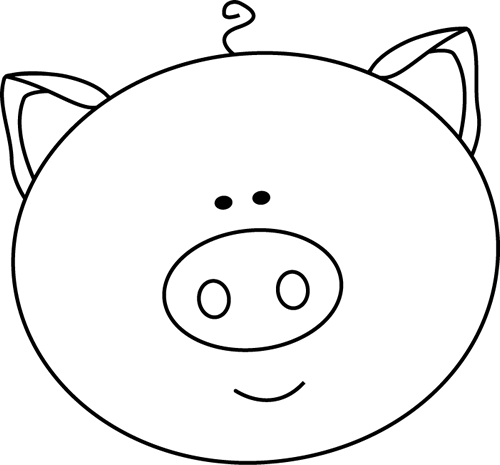black and white black and white pig face pigs pinterest face rh za pinterest com brother and sister clipart black and white