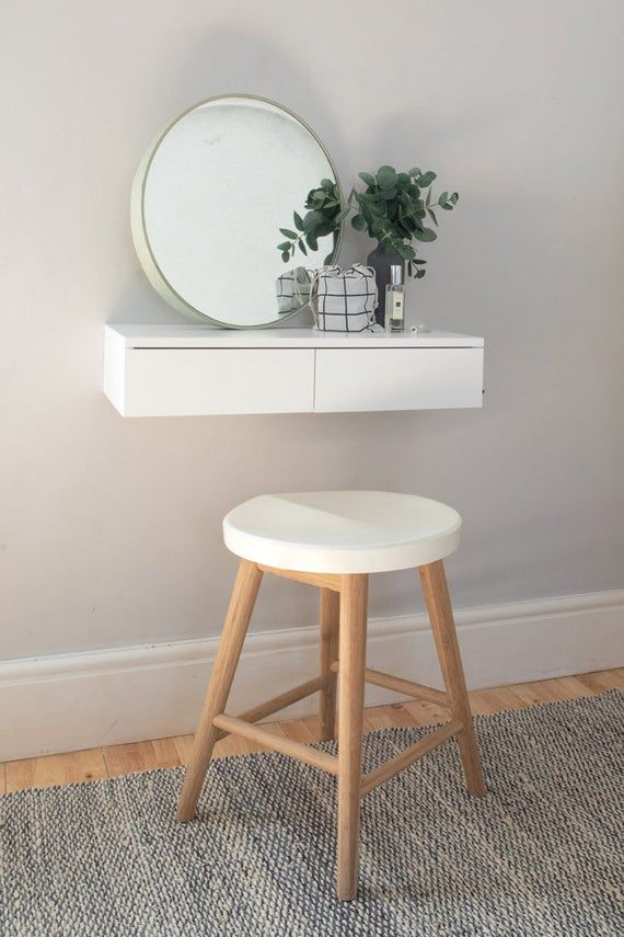 Best Small Floating Dressing Table White Dressing Table For 640 x 480