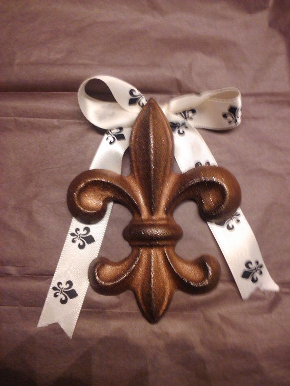 Custom Ceramic Fleur de Lis