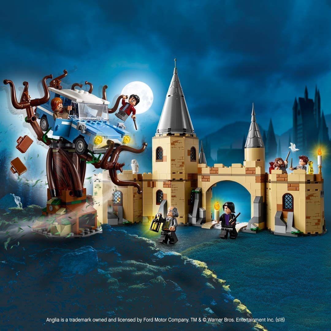 Fur Alle Harry Potter Fans Die Gerne Bauen Lego Harry Potter Und Die Kammer Des Schreckens Die Peitschende Weide Von H Hogwarts Lego Harry Potter Gryffindor