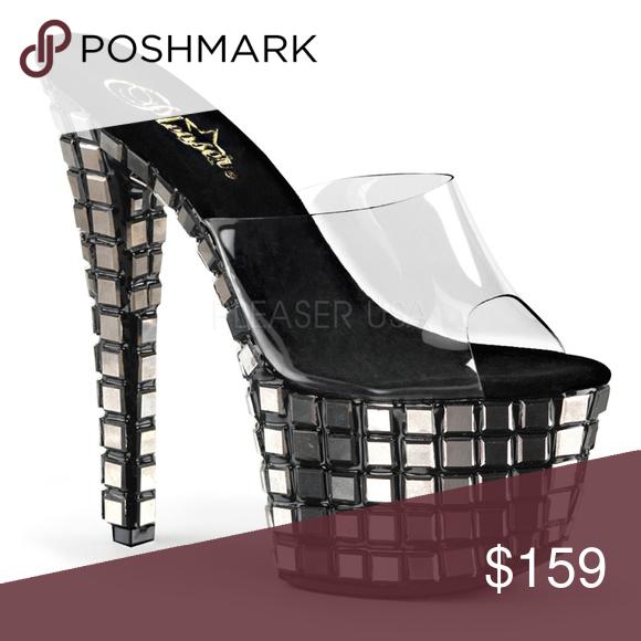 24eeed39e2c 7 Inch High Heel Mirror Platform Stiletto Shoes NWT | My Posh Picks ...