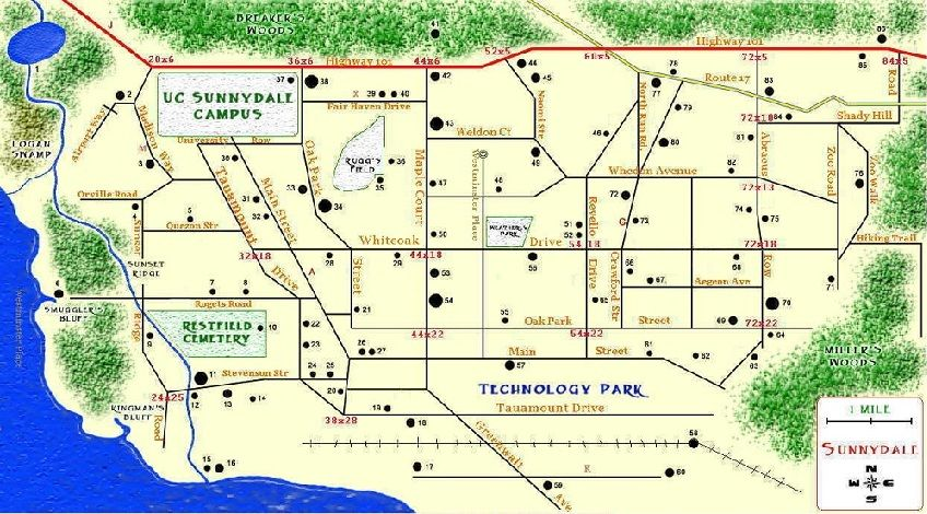 sunnydale california map for sims 3   Google Search   Buffy Sims