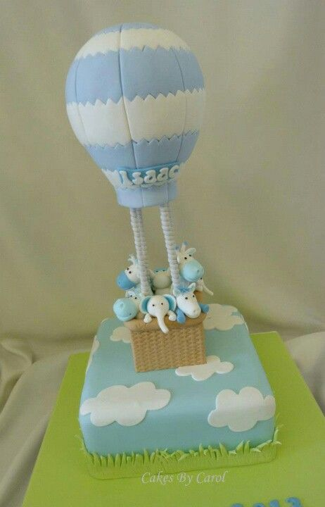 hot air balloon cake Cake decorating ideas Pinterest ...