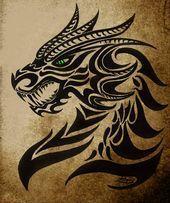 Photo of Agnarok, der schwarze Drache der Nacht von moonlightdarkangel – Tattoo –  Agnaro…