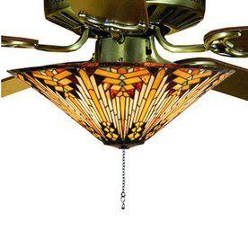 Meyda Tiffany 3 Light Ceiling Fan