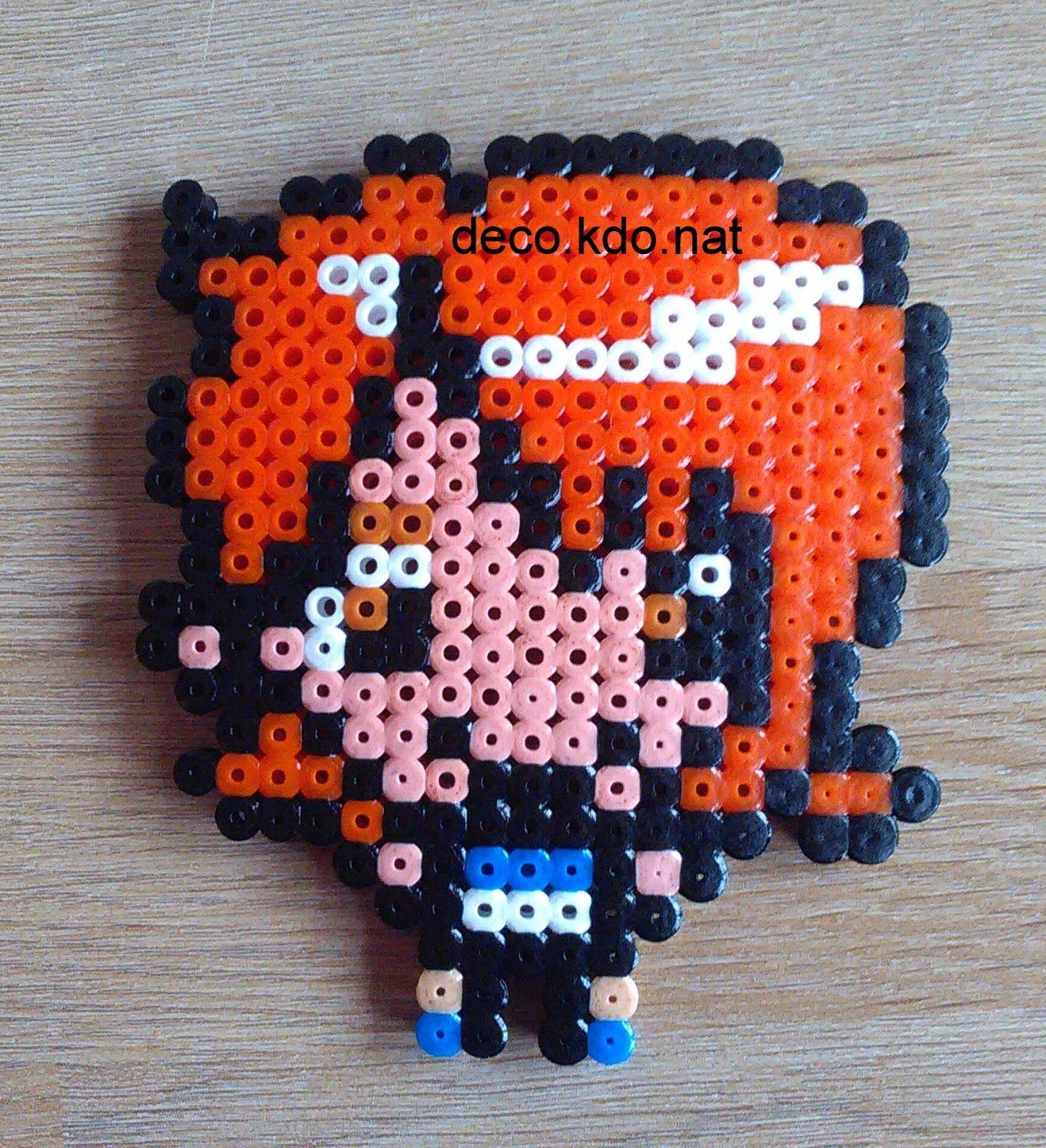 Nami - One Piece hama beads by Deco.Kdo.Nat