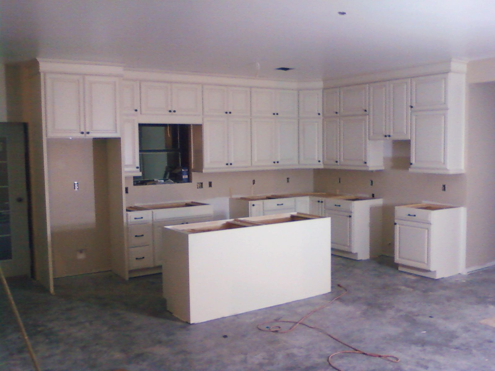 kitchen cabinets 9 foot ceiling Google Search