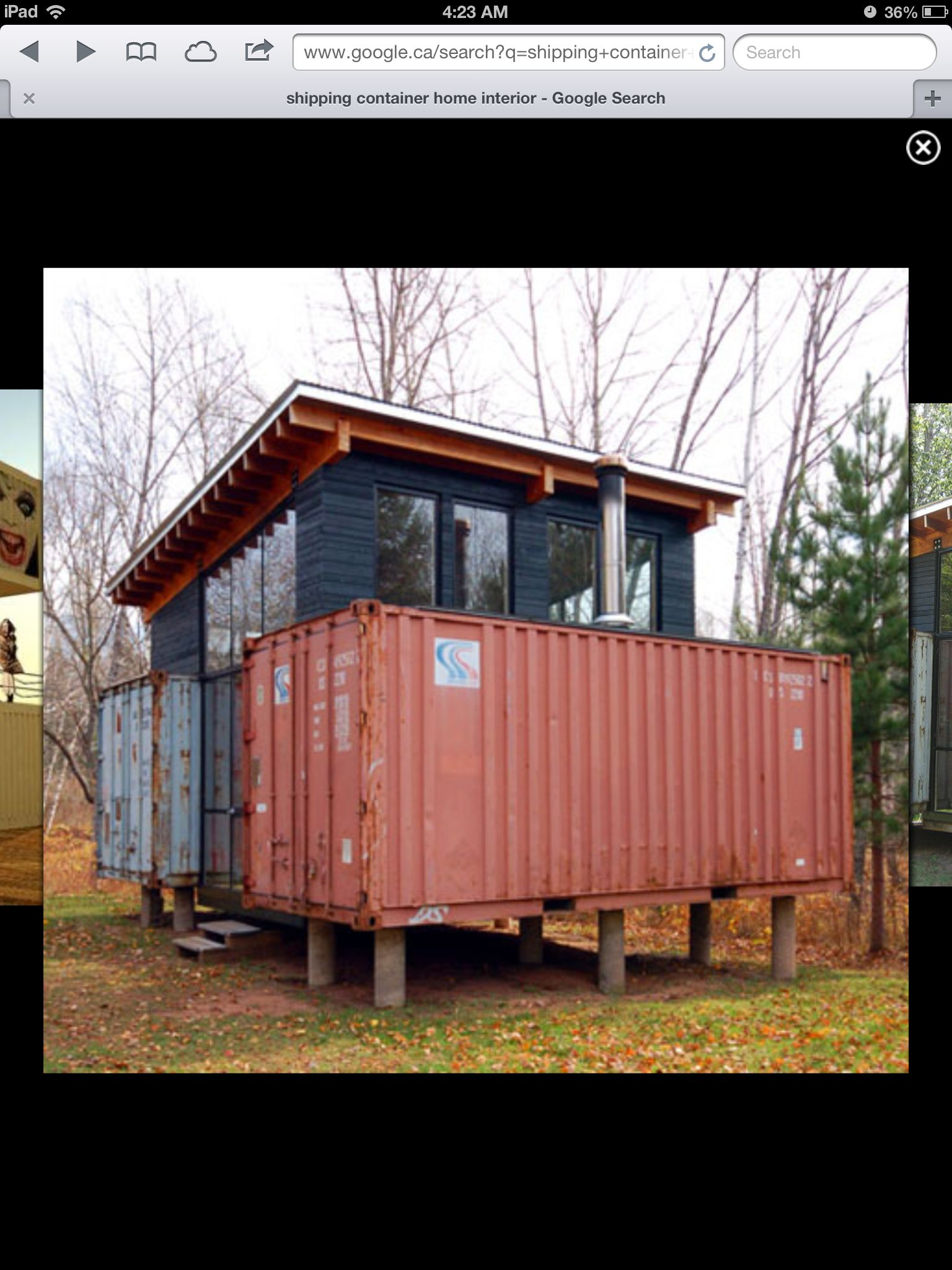 Shipping Container Conversion to House a Generator Shipping Container  Conversion to House a Generator