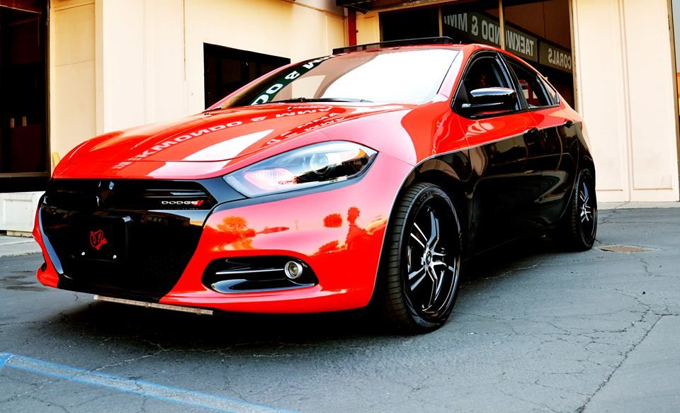 Nicole Viscovich Shows Off Her Custom 2013 Dodge Dart Project