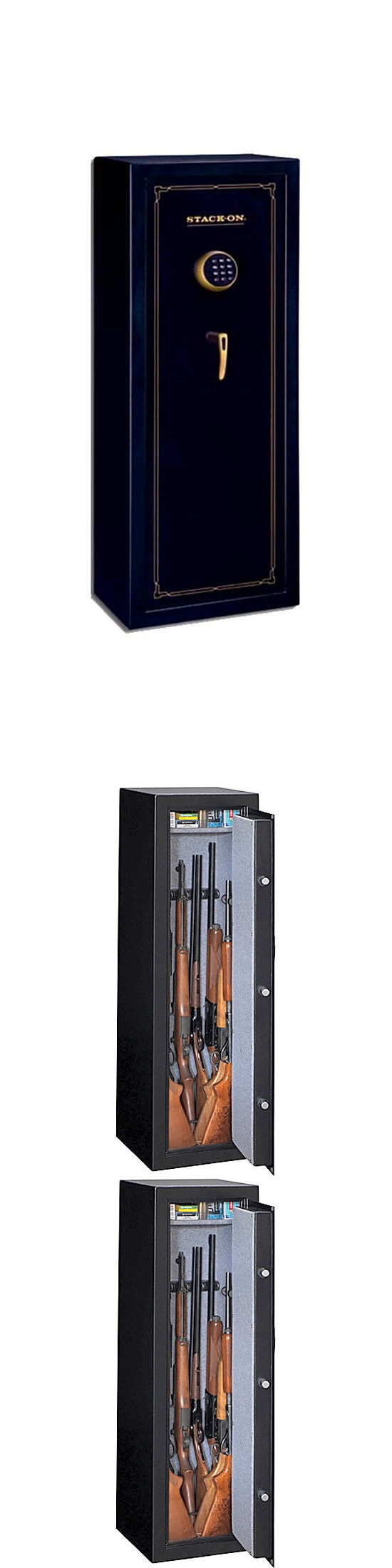 Woodmark Gun Cabinet Cabinets And Safes 177877 Stack On 10 Gun Safe Electronic Lock