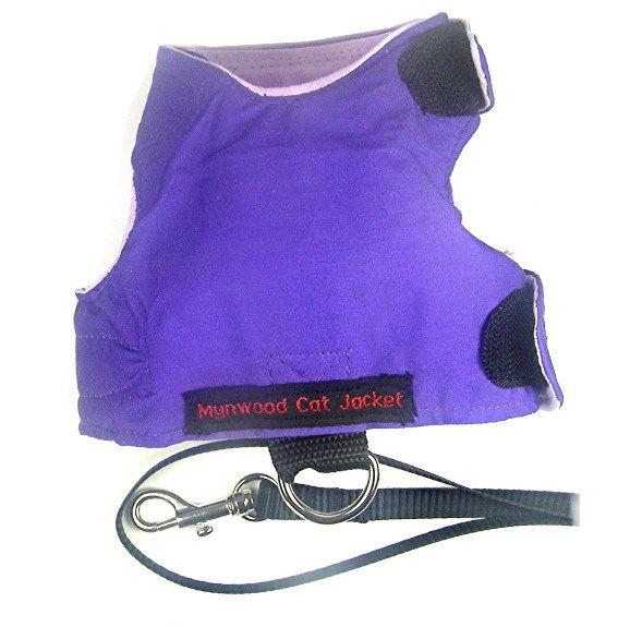 Purple Small Kitten Jacket Harness & Lead
